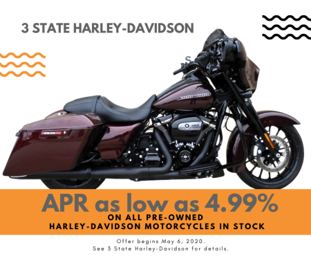 Pre-Owned Harley-Davidson Motorcycles APR as low as 4.99%!