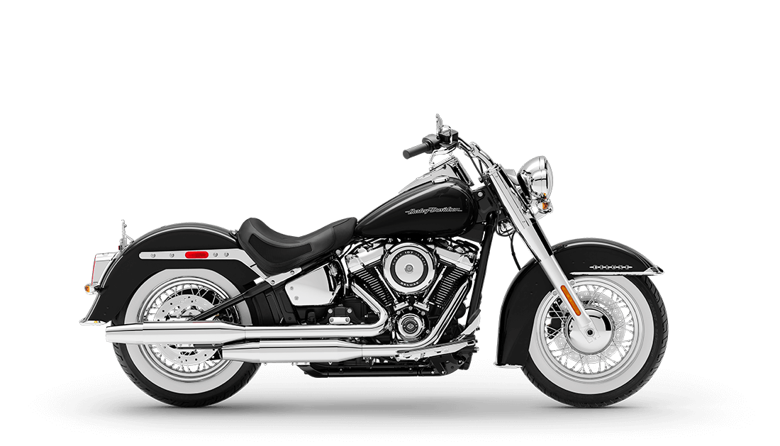New 2020 Black Harley-Davidson® Softail Deluxe FLDE For Sale