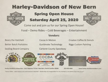 Harley-Davidson of New Bern Spring Open House