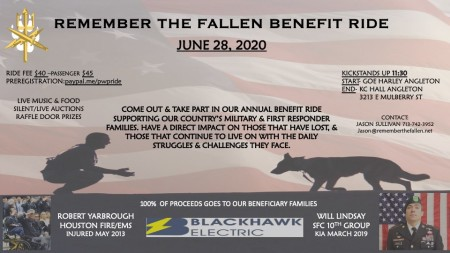 Remember the Fallen Benefit Ride