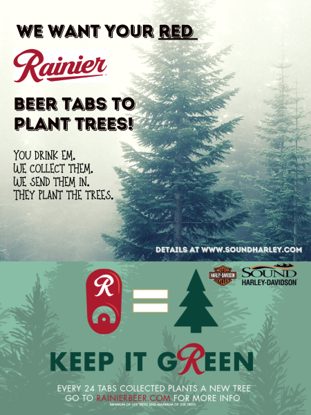 We Want Your Red Rainier Beer Tabs!