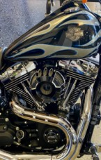Midnight Pearl Flame 2013 Harley-Davidson Wide Glide thumb 2
