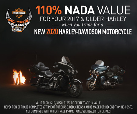 110% of NADA Value on your trade!