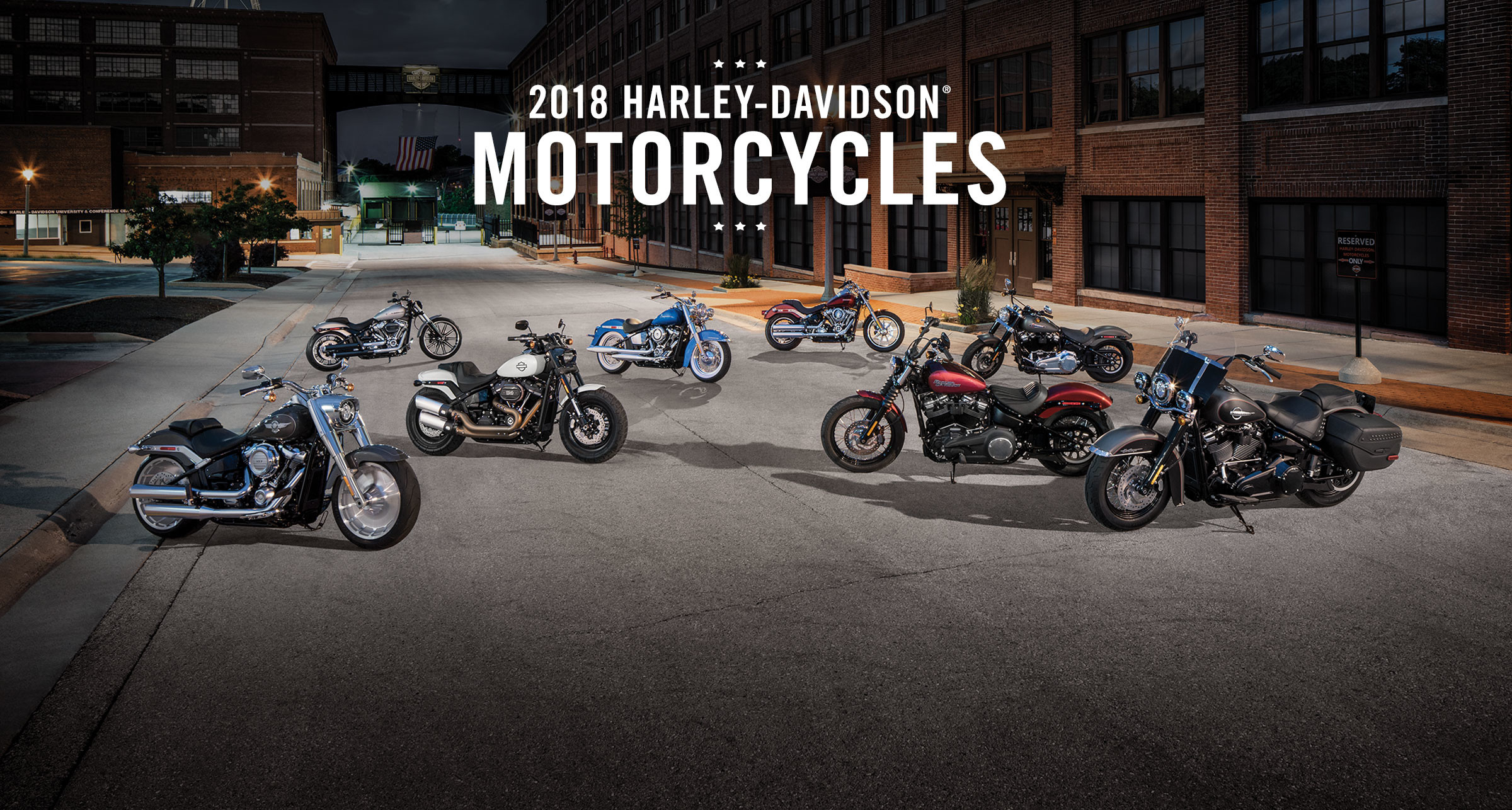 2018 Motorcycles