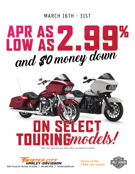 APR AS LOW AS 2.99% AND ZERO MONEY DOWN
