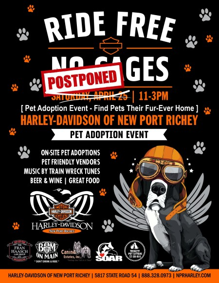 Live and Ride Cage Free - Pet Adoption