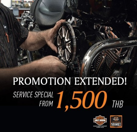 PROMOTION SERVICE EXTENDED!