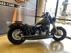 Black Denim 2012 Harley-Davidson® Softail Slim® thumb 1
