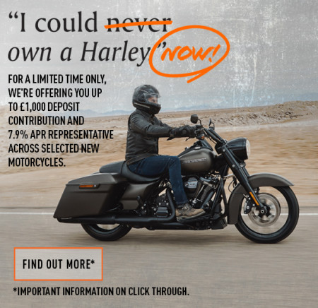 I COULD OWN A HARLEY NOW!