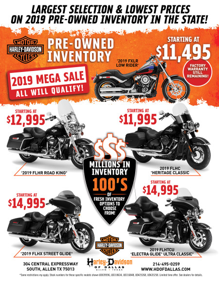 2019 Pre-Owned Inventory Mega Sale