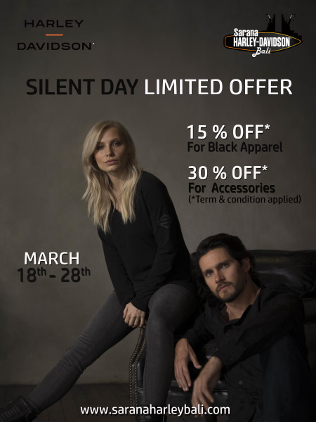 Silent Day Limited Offer