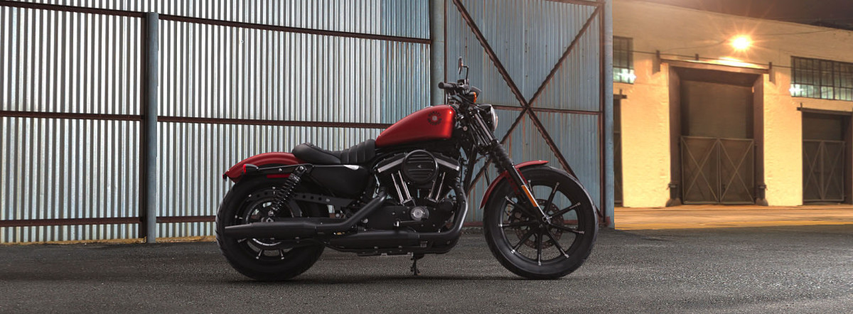 Harley-Davidson<sup>®</sup> Iron 883<sup>™</sup> 2019 XL 883N 431776N WICKED RED
