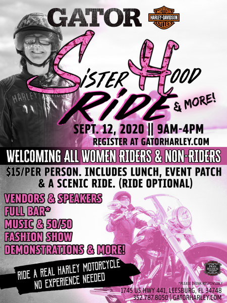 Sisterhood Ride + More