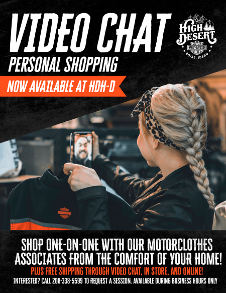 VIDEO CHAT - PERSONAL SHOPPING