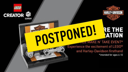 Postponed: Kids Event: Lego Make N' Take
