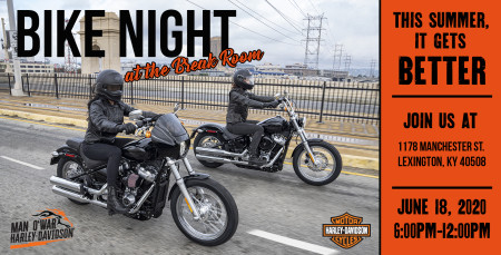 Bike Night at the Break Room