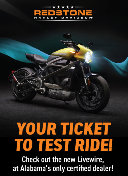 Your Ticket to Test Ride!