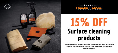15% OFF Surface cleaning products