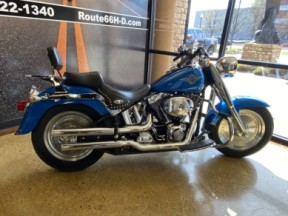 Impact Blue 2002 Harley-Davidson Fat Boy® thumb 1