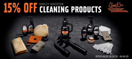 15% Off H-D® Cleaning Supplies