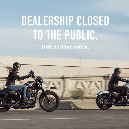 Dealership Closed to the Public, until further notice.
