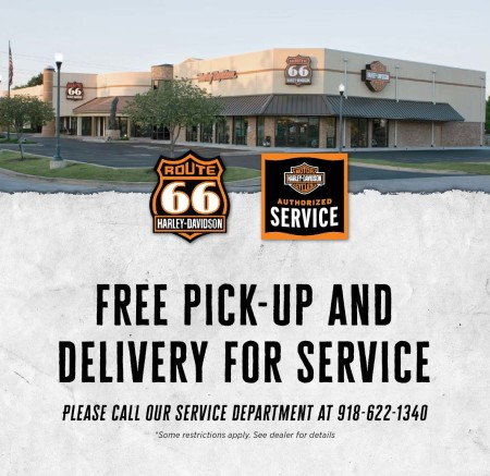 Free Pick-Up & Delivery for Service