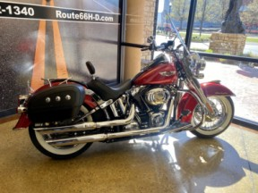 Ember Red Sunglo 2012 Harley-Davidson® Softail® Deluxe thumb 1