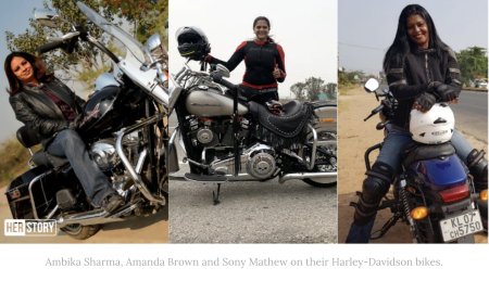 Three women Harley-Davidson riders share how bike riding is more than just a passion
