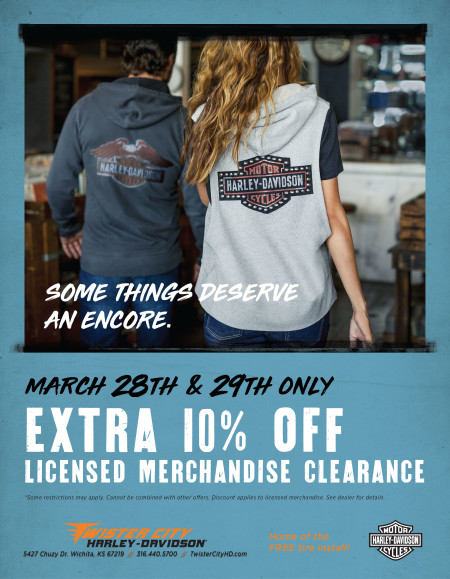 EXTRA 10% OFF LICENSED MERCHANDISE CLEARANCE
