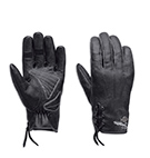 Swingback Distressed Leather Gloves