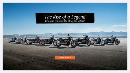 RISE OF A LEGEND SOFTAIL® EVENT