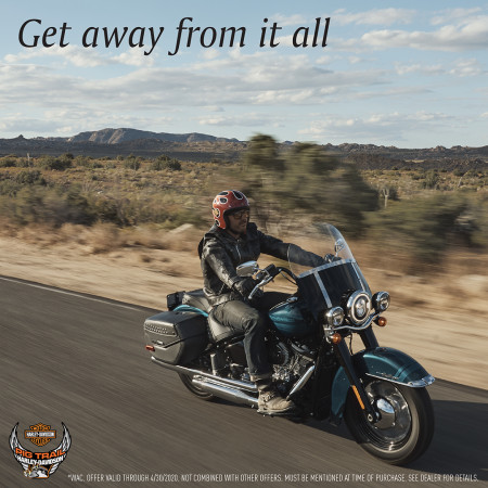 April 2020 - Special Financing on Select New H-D Models