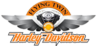 Harley-Davidson® Flying Twin logo