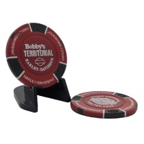 BTHD Poker Chip (Red/Black/White)