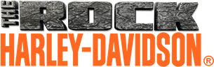 THE ROCK Harley-Davidson logo