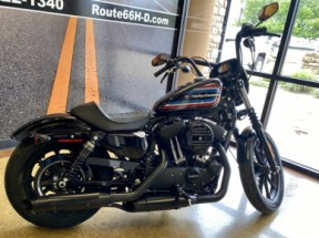 Vivid Black 2020 Harley-Davidson® Iron 1200™ XL1200NS thumb 1