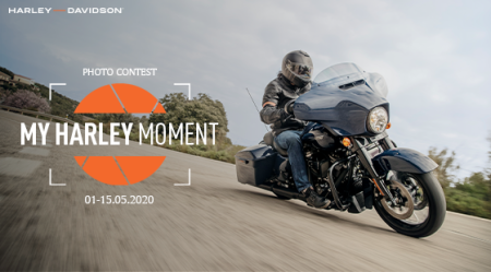 "Photo Contest: ""My Harley Moment"""