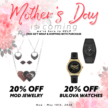 20% off Mod Jewelry and Bulova Watches