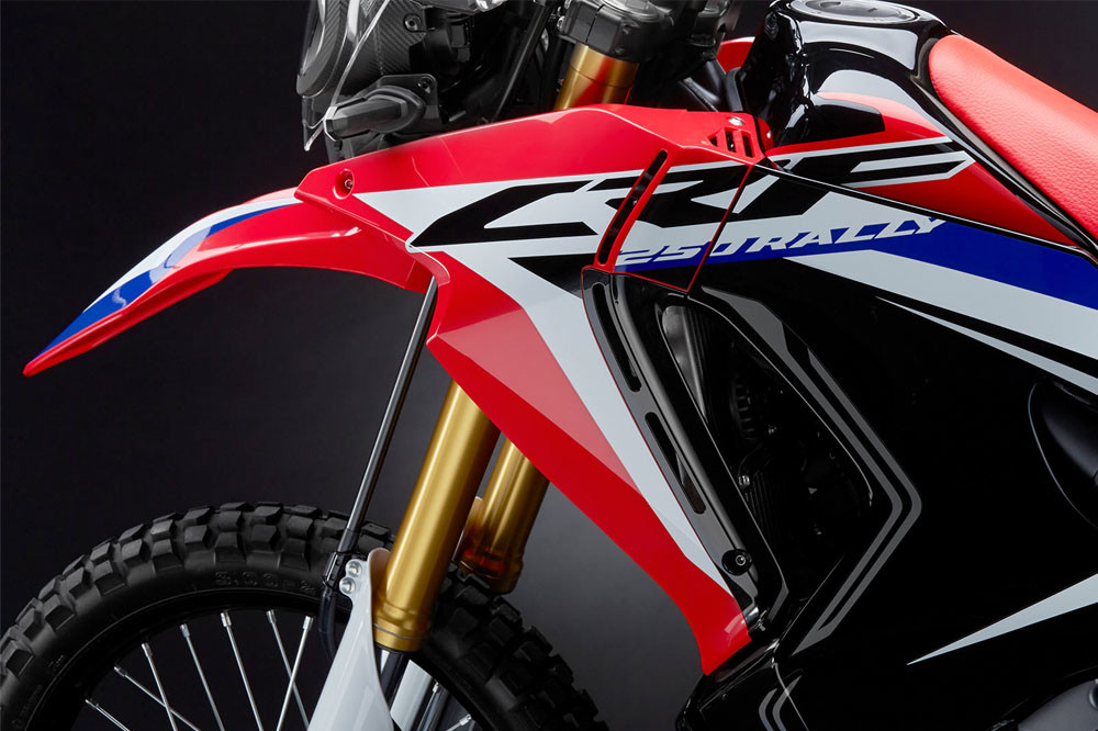 2020 CRF250 Rally Instagram image 1