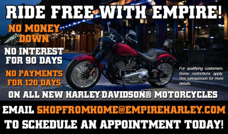 Ride Free With Empire Harley
