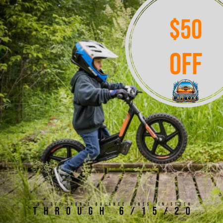 $50 Off IronE Electric Bike for Kids!