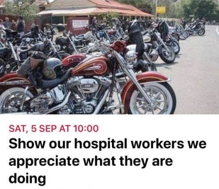 Healthcare Appreciation Ride
