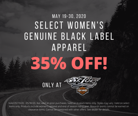 Women's Black Label Apparel