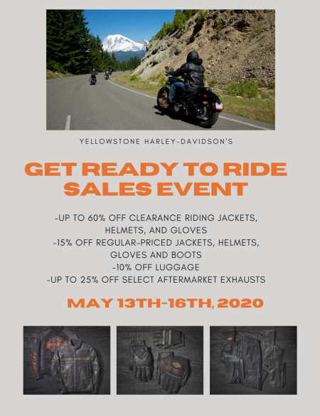 Get Ready to Ride Sale!