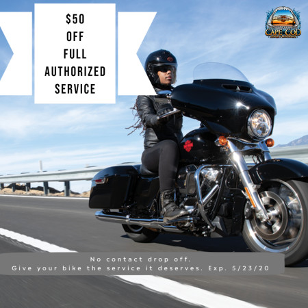 $50 OFF Full Authorized Service