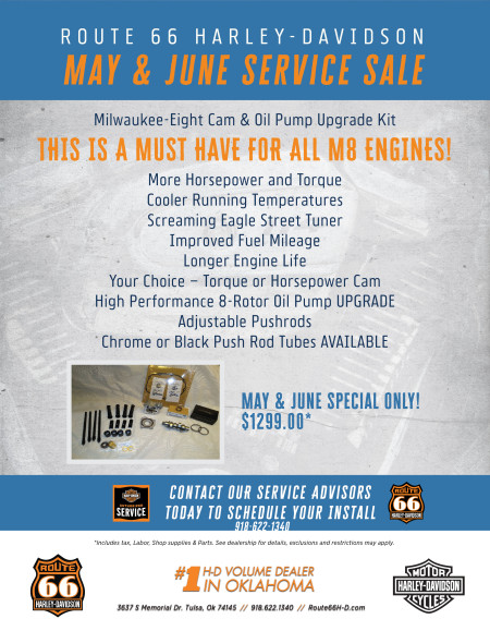 May & June Service Special