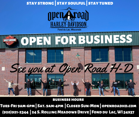 Open Road H-D Forward | Business Update COVID-19