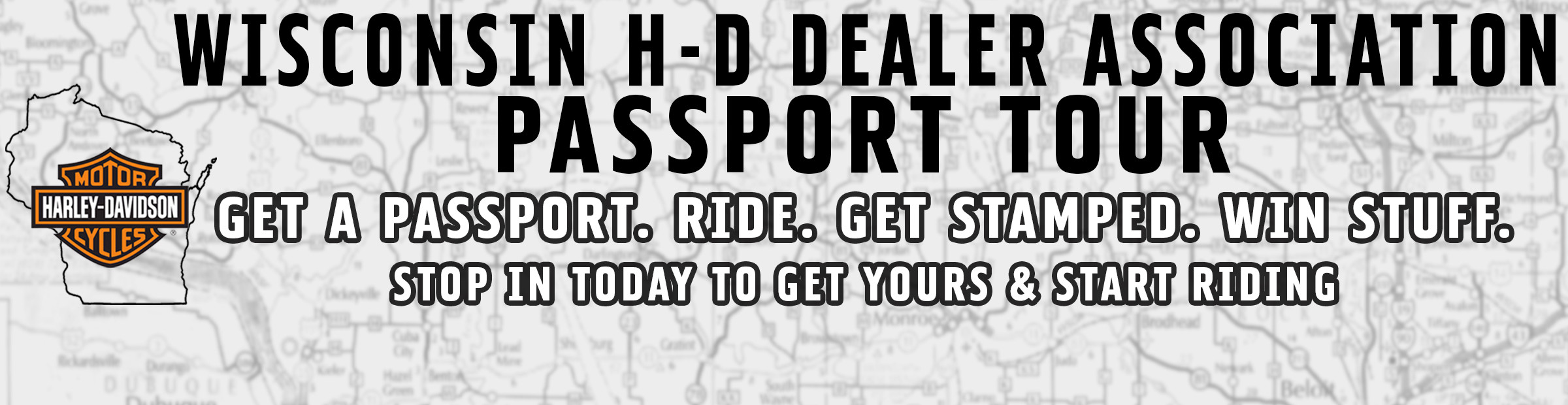 Wisconsin H-D Dealers Association Passport Tour