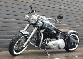 Кастом Гарика Сукачева Softail Slim thumb 2
