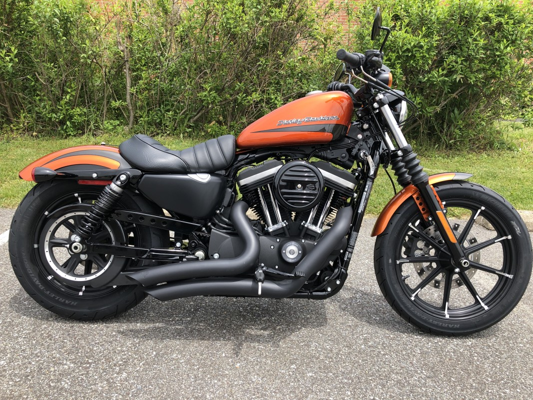 NEW 2020 Harley-Davidson® Iron 883™ XL883N w/Stage I, V&H Pipes